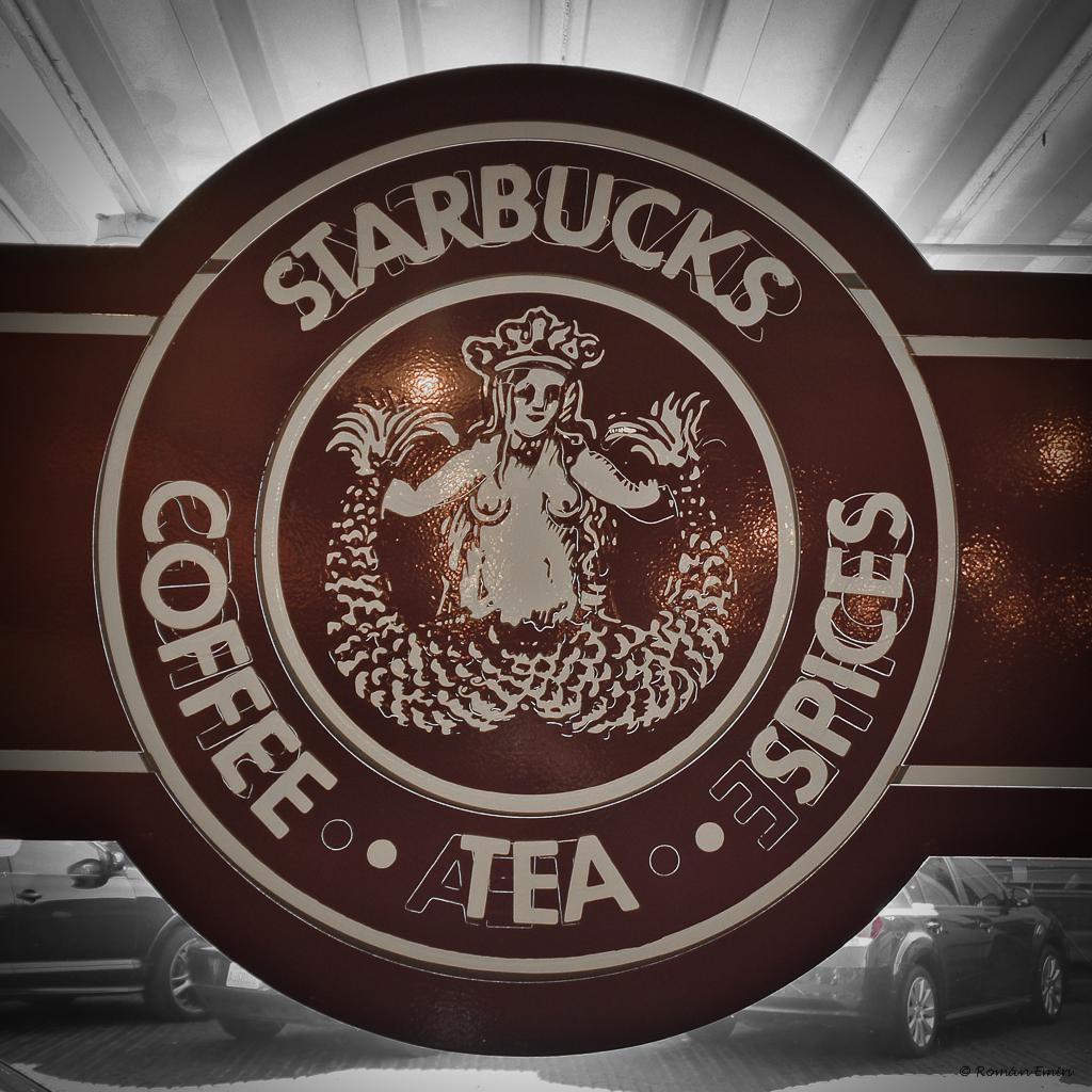 Logo Original de Starbucks | Starbucks abrio su primera ...