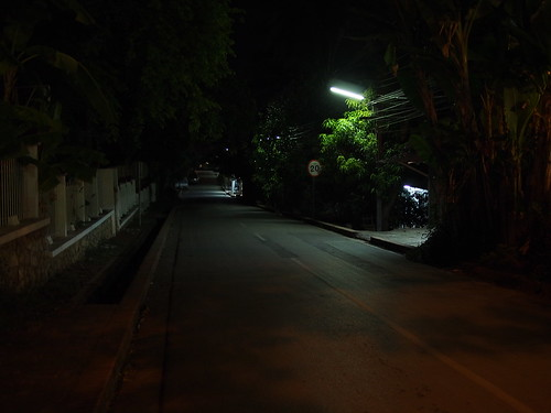 dark road near Villa Maly | by ayustety