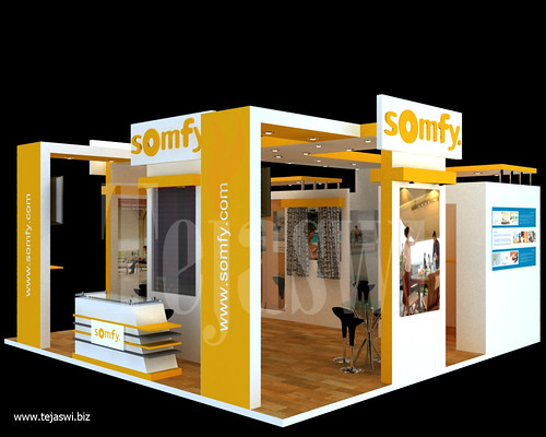 6x6 meter 36 square meter exhibition stall design by