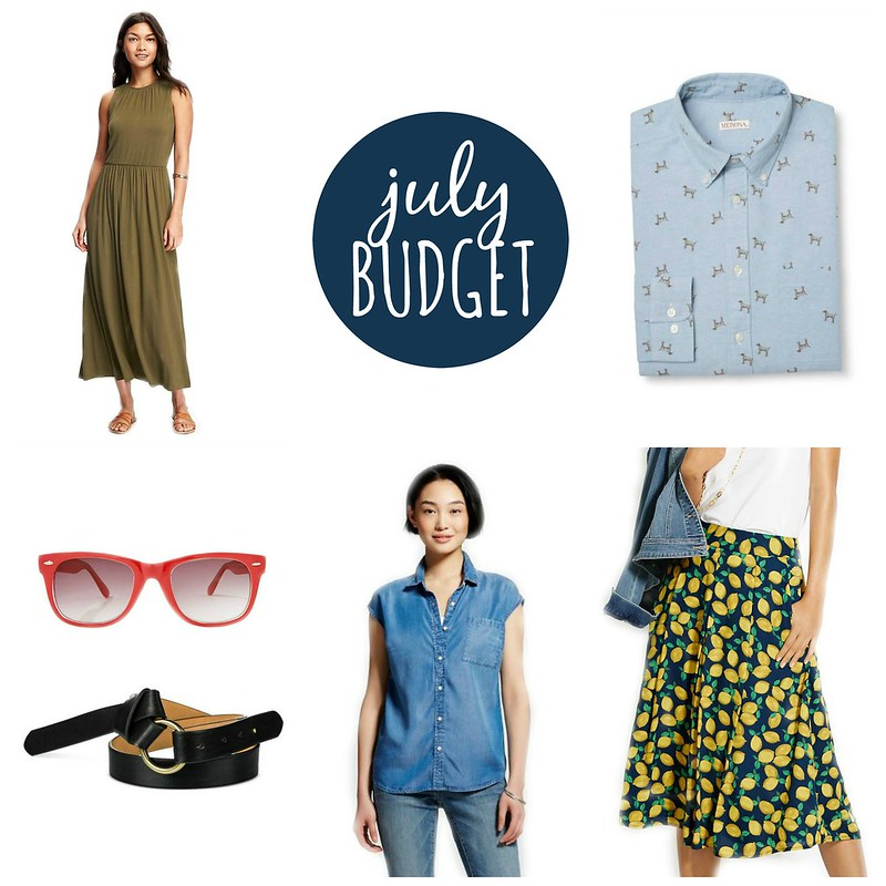 july 2016 budget Style On Target
