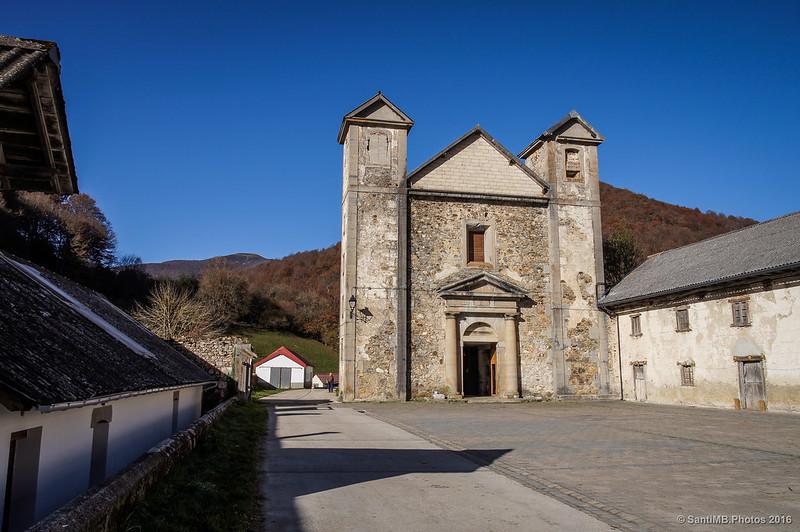 Antigua iglesia de la Fábrica de Orbaizeta