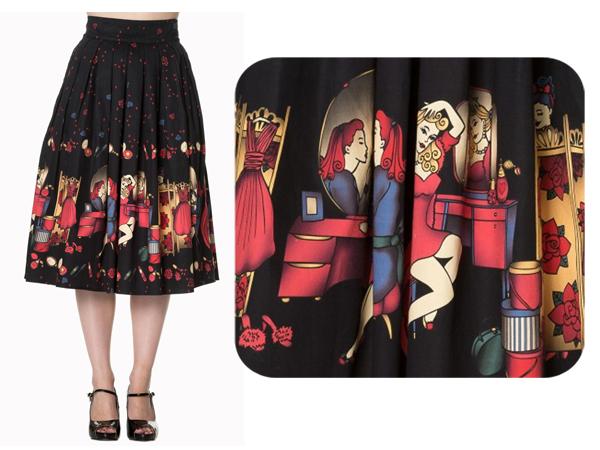 banned clothing vanity skirt