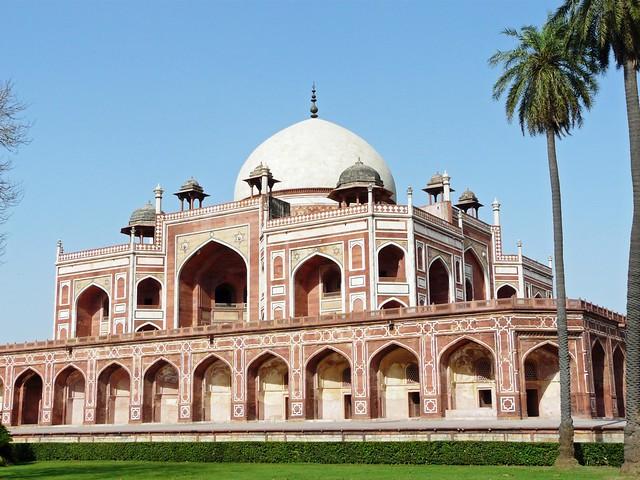 O túmulo de Humayun (Delhi, Índia)