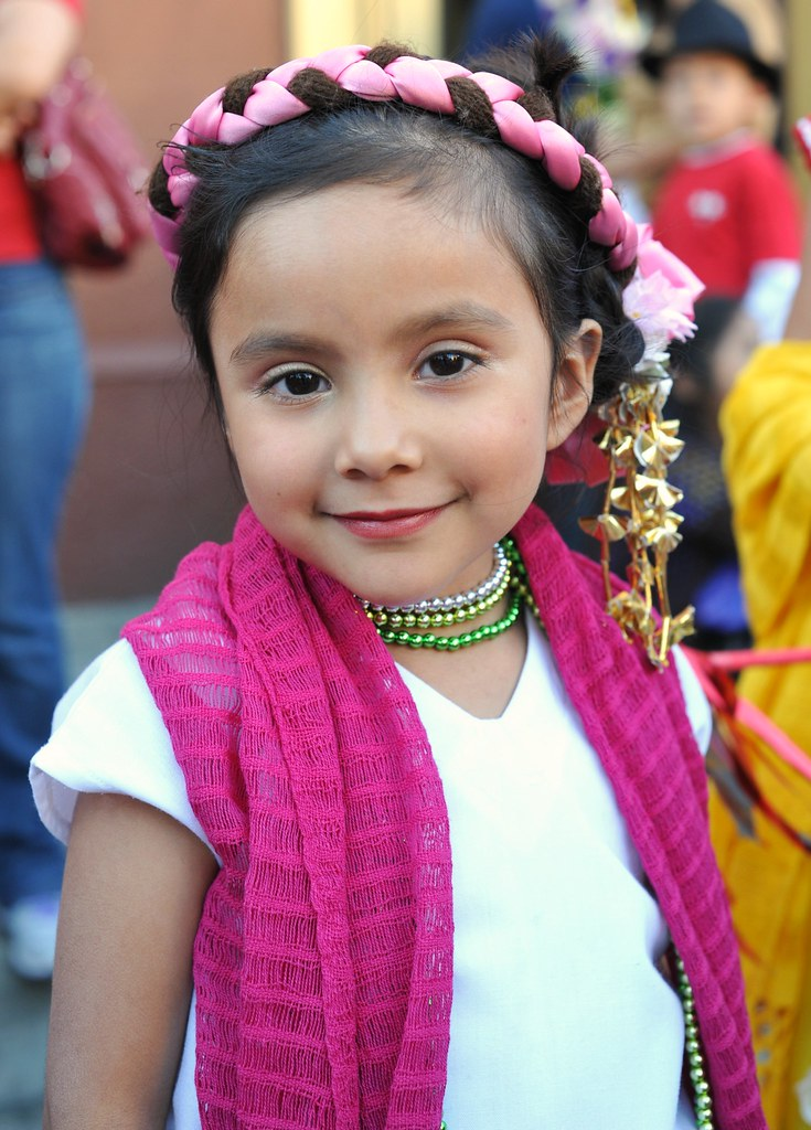 A Sweet Smile Mexico  A Little Girl With A Sweet Smile -6793