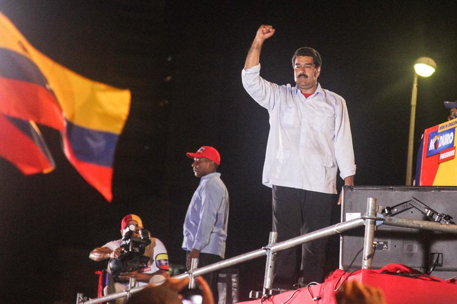Image result for Nicolas Maduro from Flickr