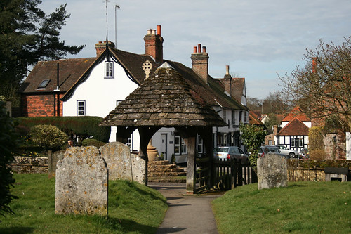 Shere: a lovely tranquil village on the picturesque Tillingbourne | by Fedulab