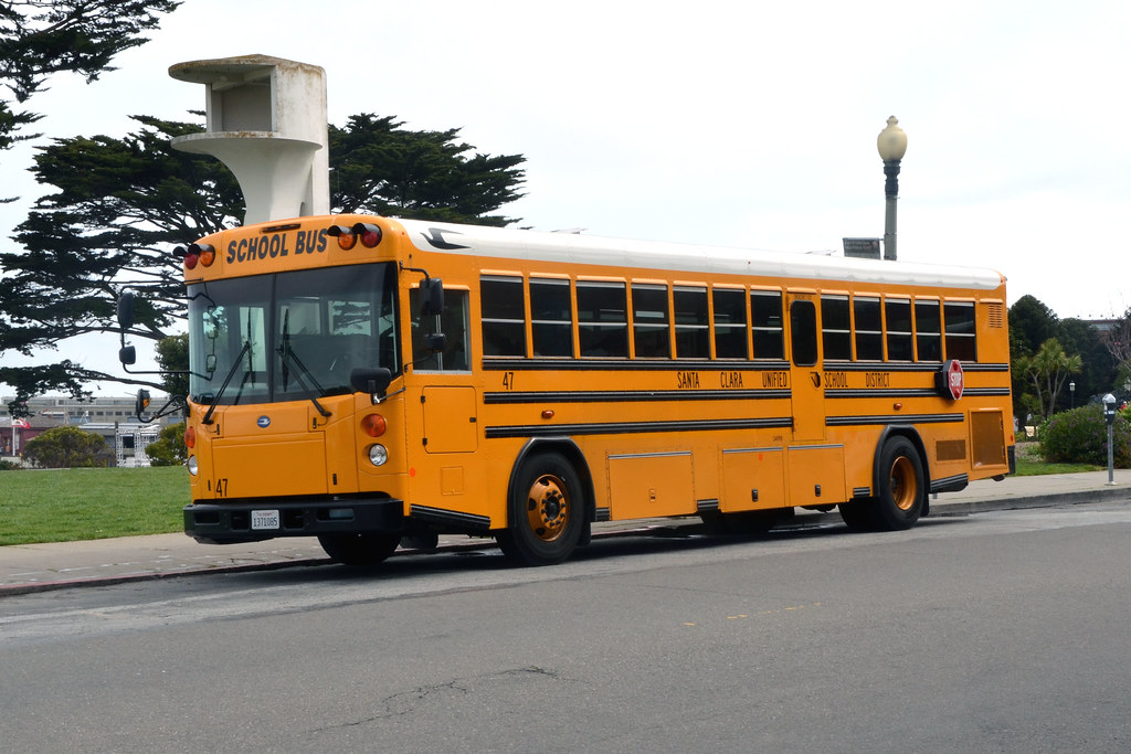 American School Bus - Santa Clara Unified School District ...