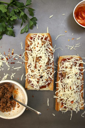 French Bread Pizza: 2 ways | by joy the baker