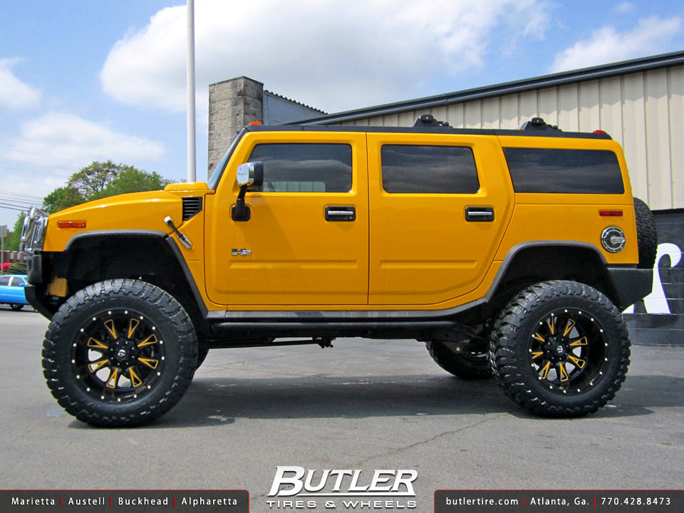 Hummer H2 with 22in Fuel Throttle Wheels | Additional ...