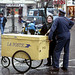 La Poste: Relations Publiques dans la rue (Angers, 1987)
