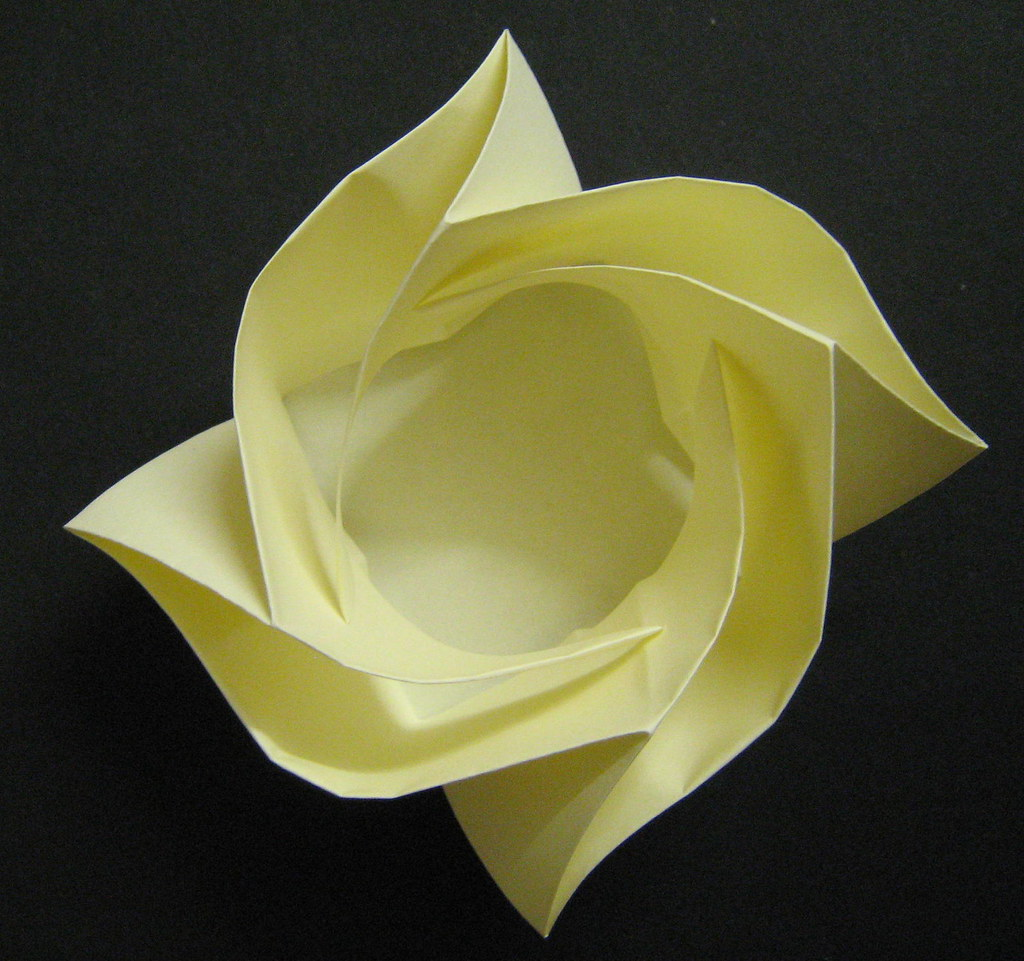 Origami Rose Box: Caja Rosa | Origami Rose Box: Caja Rosa ... - photo#23