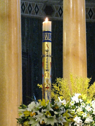 Paschal Candle 2013 - in situ | by Rachel's works