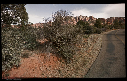 Verde Valley School Road, Sedona, Arizona - Google Maps Redux | by Juli Kearns (Idyllopus)