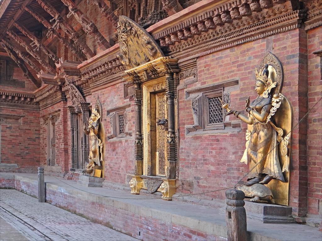 Le Temple De Taleju Dans Le Palais Royal  Patan