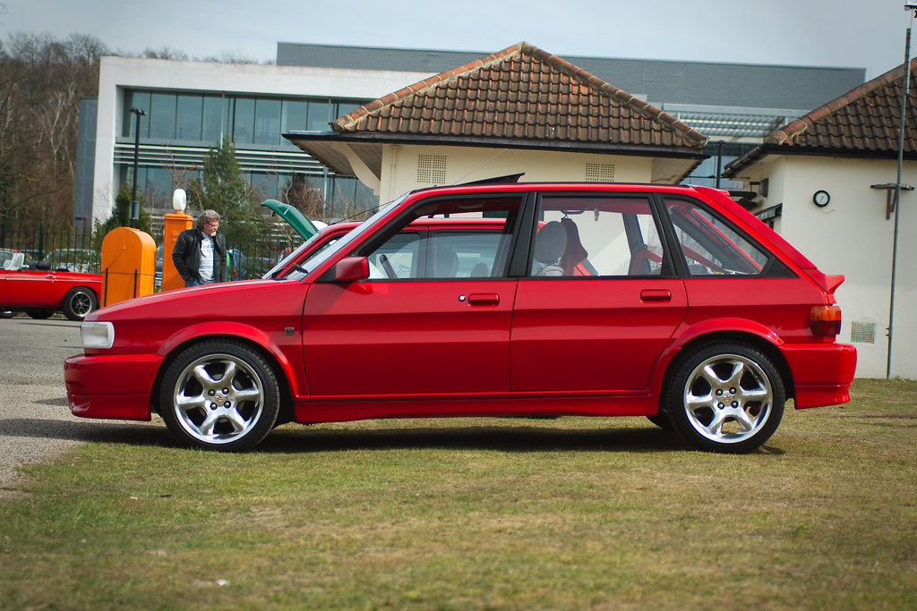 "MG Maestro Turbo | Taken at Brooklands during the ""MG Era ..."