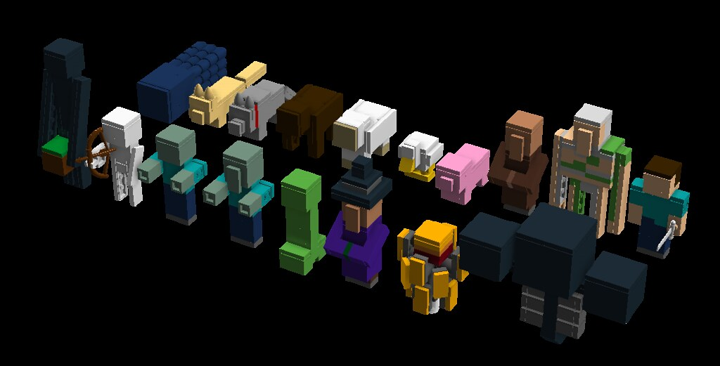 Minecraft Mobs I M Trying To Complete My Collection Of