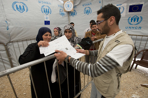Providing food vouchers in Lebanon to Syrian refugees | by EU Civil Protection and Humanitarian Aid Operation