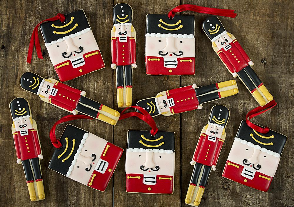 galletas de Navidad decoradas Cascanueces