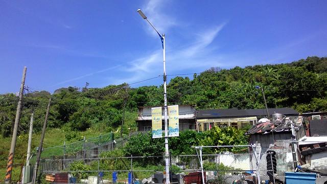 基隆八斗子旅館開發案基地範圍。攝影:林倩如。