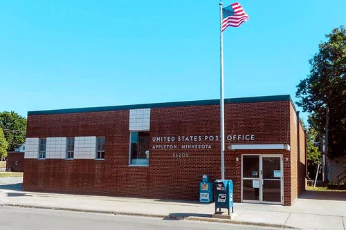 Appleton, MN post office | by PMCC Post Office Photos