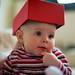 Box hat girl