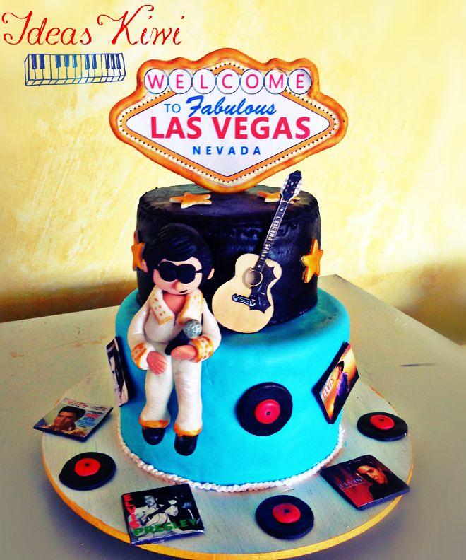 Elvis Presley Cake Elvis Presley Cake Sandra Vidrio Flickr