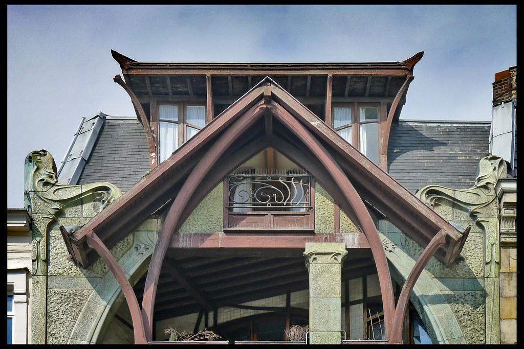 Fr lille maison coilliot 04 1897 guimard h rue de fleurus for 82 rue brule maison lille