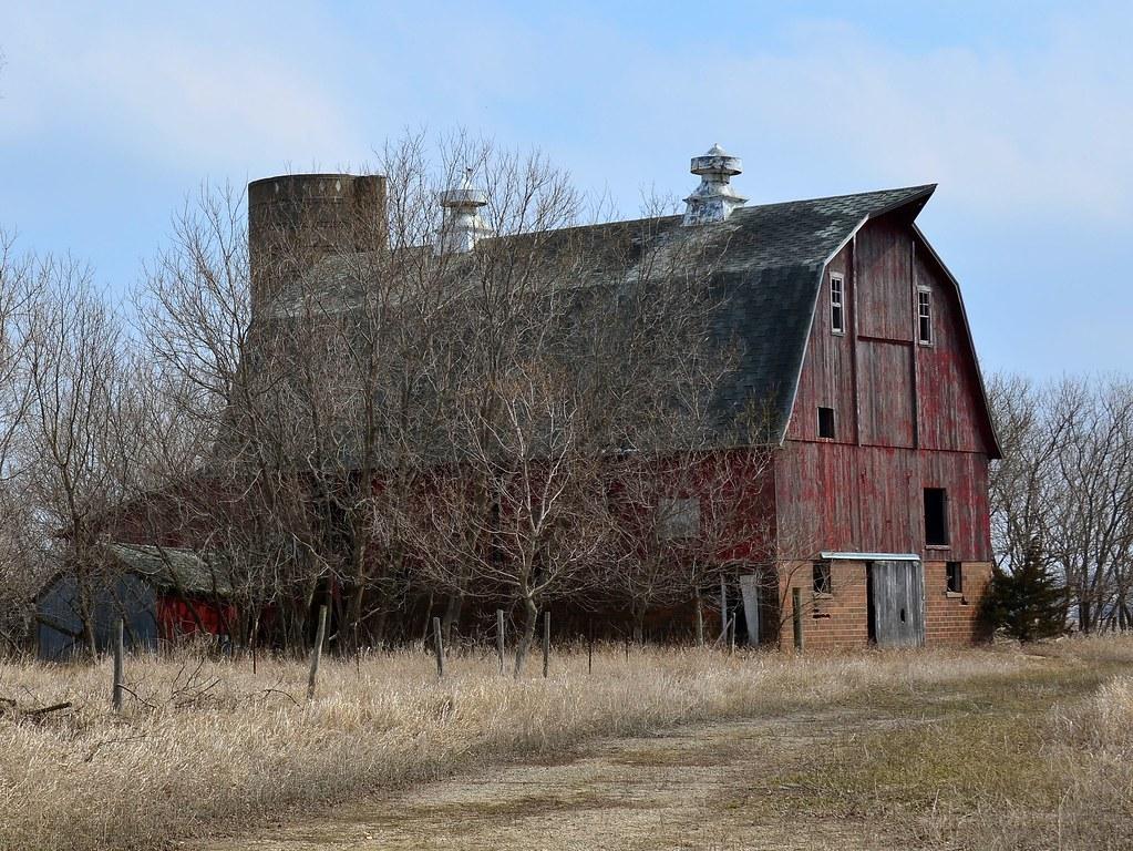 Iowa City Iowa Red Barn