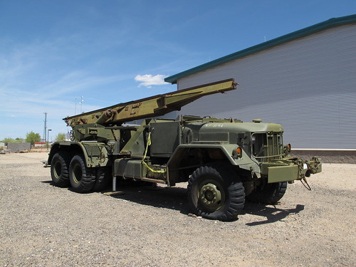 Mgr 1 Honest John Nuclear Rocket Launcher Vehicle Kelly