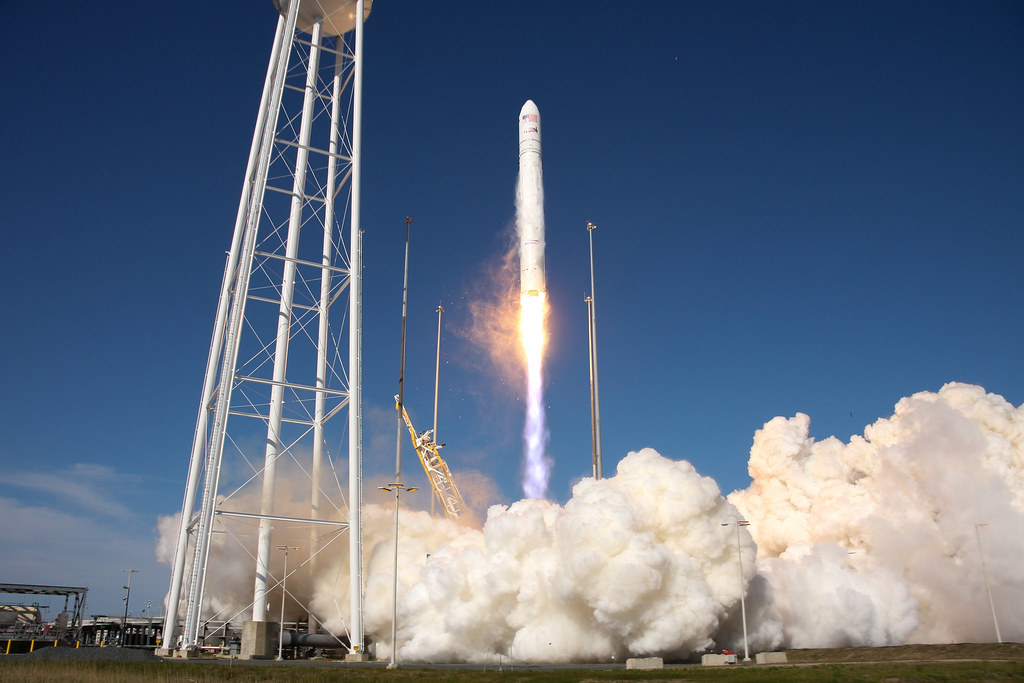 Antares Rocket Launch Wallops Island Va Nasa