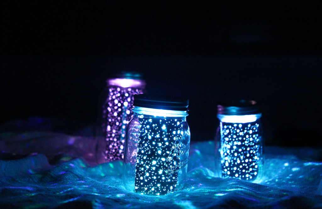 Galaxy Jars | I created these galaxy jars over the weekend ...