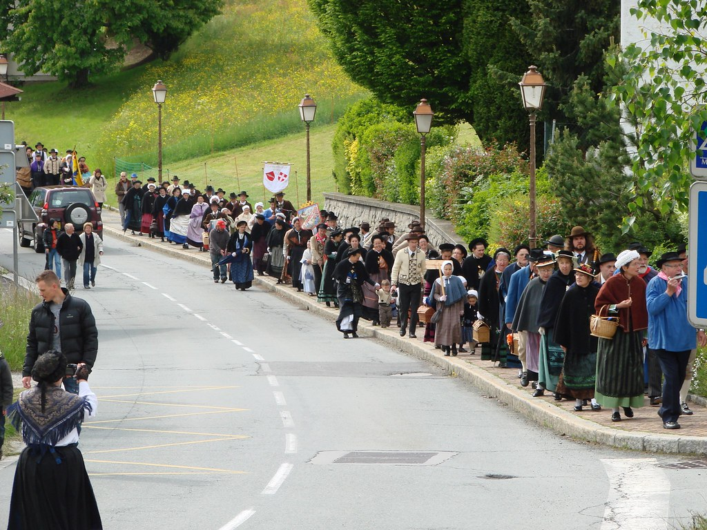 Rassemblement des Groupes Folkloriques de Haute-Savoie