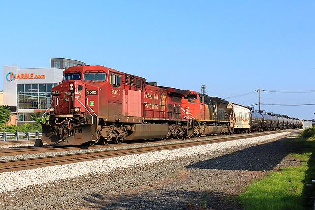 CP 9592 on K-634