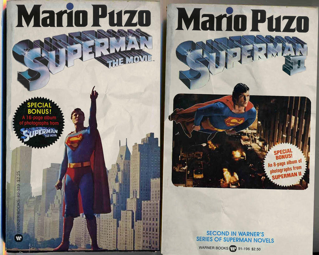 Mario Puzo Superman novels