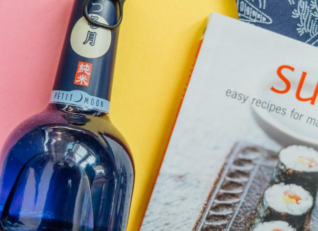 petit moon sake and sushi recipe book