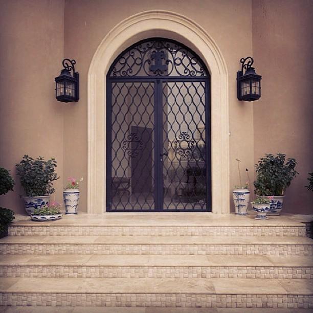 ... #wrought #iron #wroughtiron #interior #door #design #interiordesign  #abudhabi