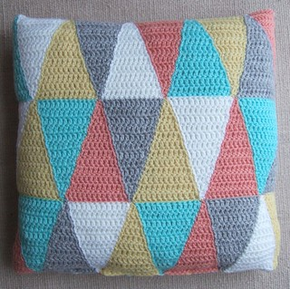 Triangle pillow | by solgrim
