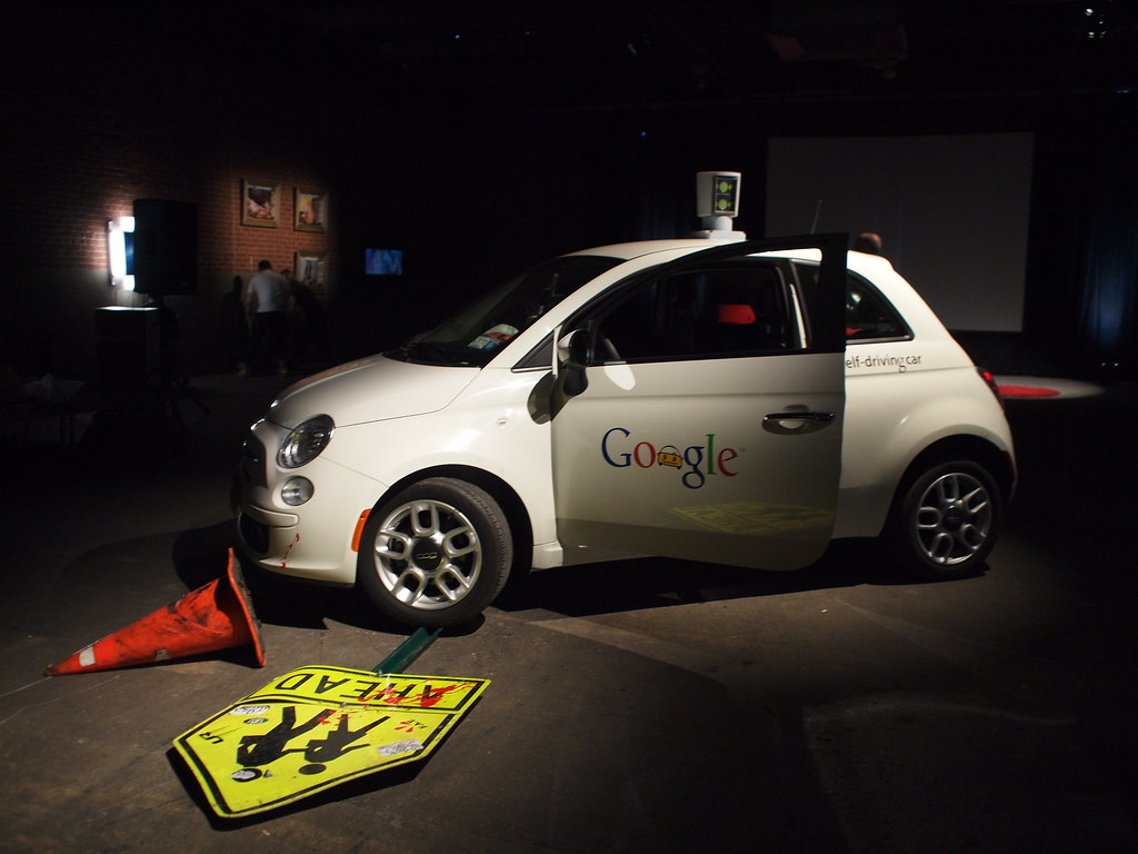 Self Driving Car >> Google self-driving car | Becky Stern | Flickr