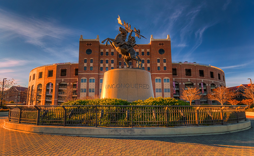 Doak Campbell Stadium Now With 100 More Flame This