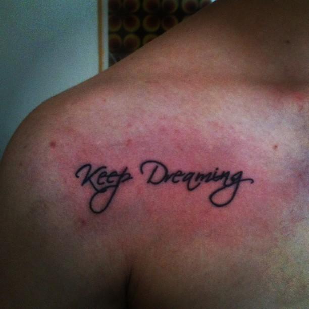 Dream Tatouage playtattoo #tattoo #tatouage #tatuagem #quotes #frases #s…   flickr