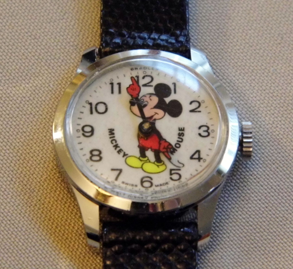 Vintage Mickey Mouse Birthday Cake Decorations