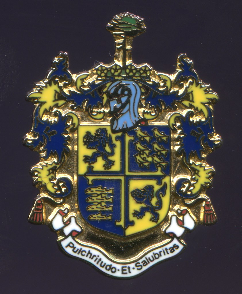 Coat Of Arms And Crest Bournemouth Dorset At The End