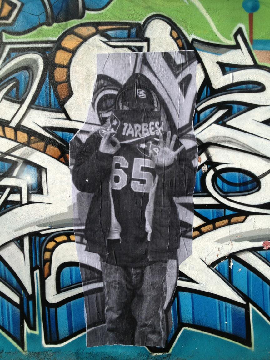 collage streetart tarbes