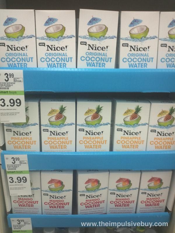 Nice Coconut Water Instant Powder Packs | theimpulsivebuy
