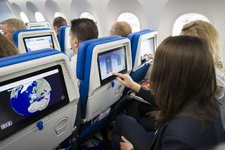 Avión de KLM Amsterdam-Chengdú