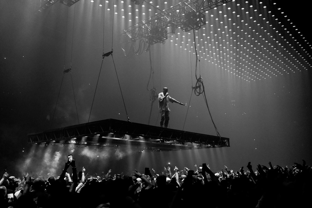 ... Kanye West: Saint Pablo Tour @ TD Garden (Boston, MA) | By Gallery