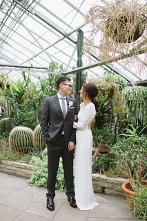 Celine Kim Photography Allan Gardens Auberge du Pommier romantic intimate restaurant Toronto fall wedding-21 | by Celine Kim