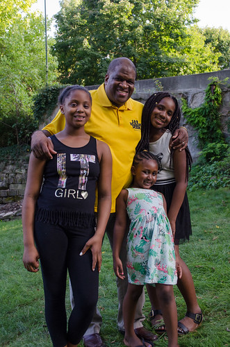 MEET FATHER Erin: Smith, 46, has six children. He works as an electronic engineer and is involved in the community. He serves as banquet chair for the 100 Black Men of Syracuse, Inc., president of the local Alpha Phi Alpha chapter and has helped Mary Nelson over the years with her annual Back to School Backpack Giveaway. | Marianne Barthelemy