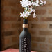 Chalkboard Wine Bottle Vase