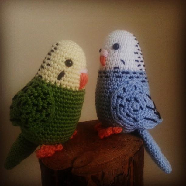 Amigurumi Patterns Free Bird : Parakeet #amigurumi #crochet #bird #amigurumiscrochet #ami ...